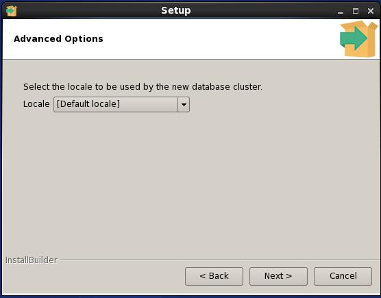 Enterprise DB PostgreSQL installation on Linux (RHL- Red Hat Linux