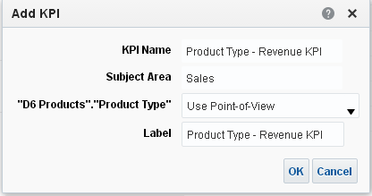 Add Objectives to an Oracle BI Analytics Scorecard : drag and drop pki