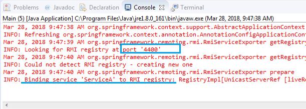 Spring Remote Method Invocation Rmi Server Example