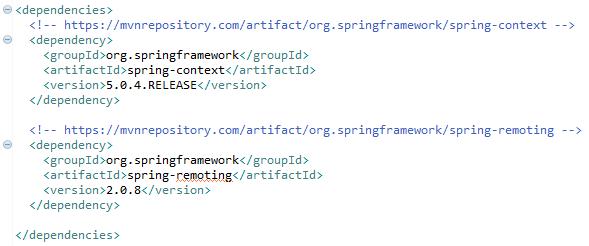 Spring Remote Method Invocation Rmi Client Example