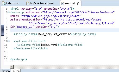 Java Servlet Example Doget Get Method