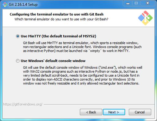 Install Git on Windows