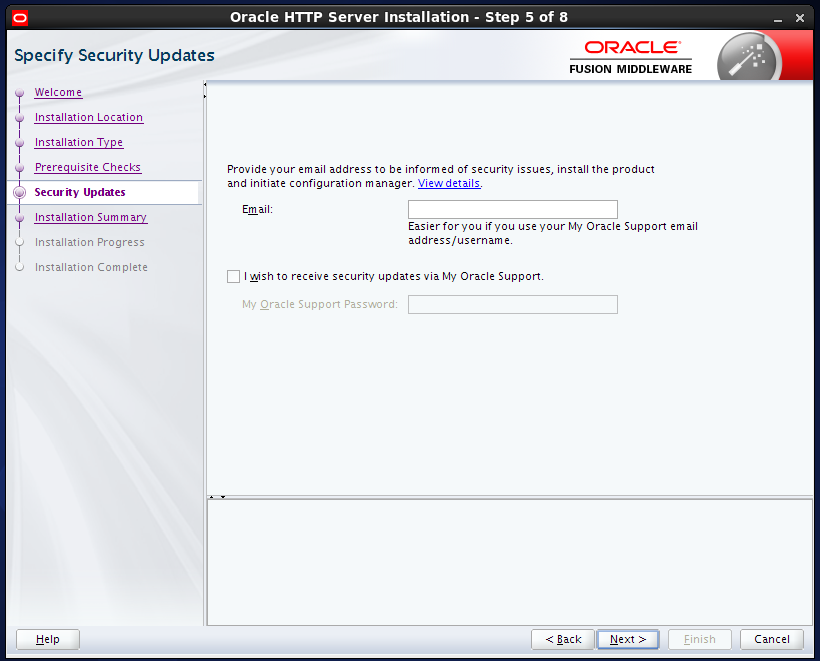 install Oracle HTTP Server (OHS) 12.1.2 : security updates