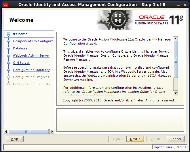 This tutorial explains you how to configure OIM (Oracle Identity