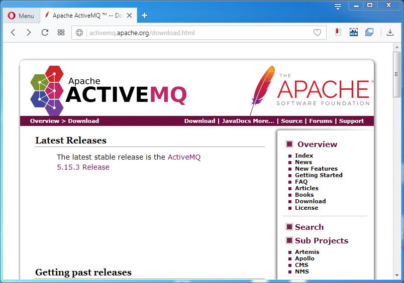 ActiveMQ installation on Windows