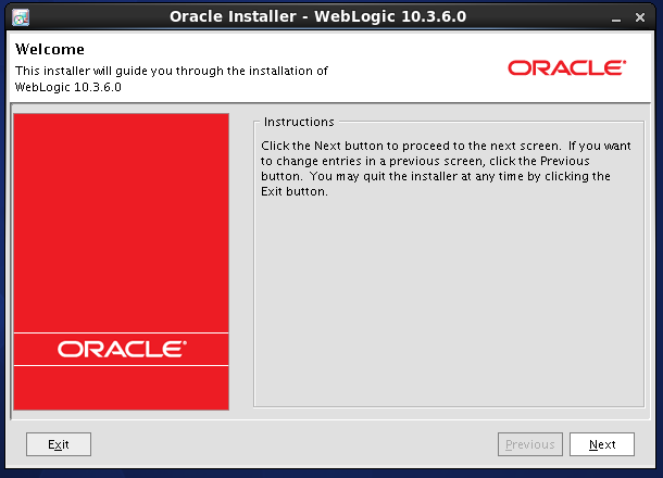 oracle weblogic 10 3 6 installation on linux rhel centos oel 32 rh learn it with examples com Oracle WebLogic Support Oracle WebLogic Console